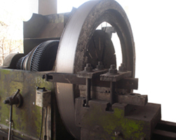Turning of Steel Ring Gear