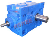 Bevel Helical Gearbox, Bevel Helical Gear Reduction, Helical Gearbox