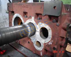 Boring of Helical Gearbox