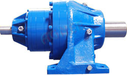 Input Solid Shaft, Foot Mounted Planetary Gearbox