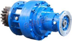 Four Stage Planetary Gear Box