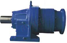 Planetary Gearbox, Input Hollow Shaft, Foot type