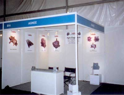 Exhibition Stall In Pune : Agro engineers gears manufacturer engineering expo 2007 pune